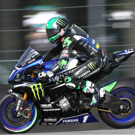 Cameron Beaubier – Monster Energy/Yamalube Yamaha Factory Racing, AMA SBK. Yamaha R1M