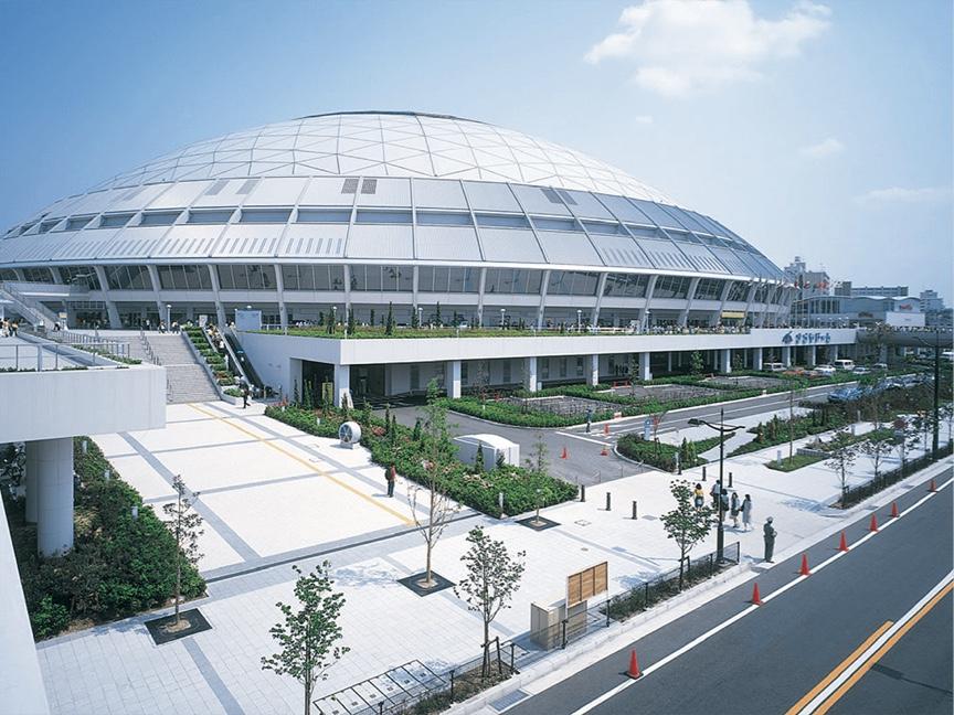 愛知県(日本)/ナゴヤドーム 採用製品:MS2500・169