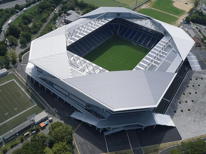 大阪府(日本)/Panasonic Stadium Suita(市立吹田サッカースタジアム)©ガンバ大阪 採用製品:MS2500・PU979