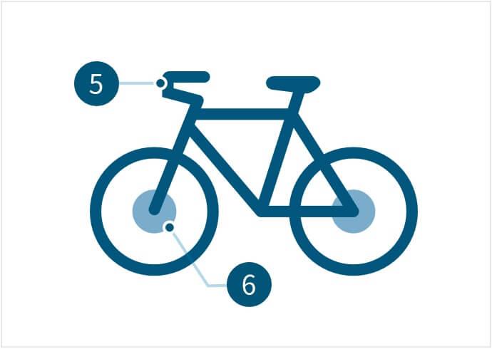 Componenti di biciclette